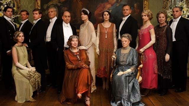 top 15 overall list-downton abbey
