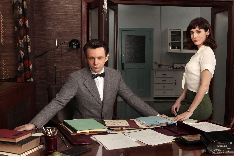 Ο Michael Sheen  (Dr. William Masters)  και η Lizzy Caplan (Virginia Johnson) [THE CANADIAN PRESS/AP/Showtime, Craig Blankenhorn]